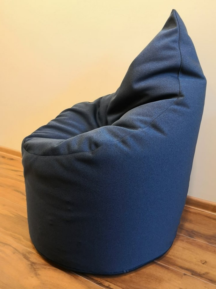 bean bag dark blue